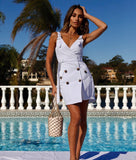 Dora Dress in White