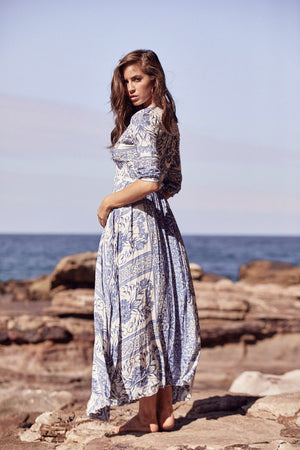 Jaase Maxi Dress Indiana in Dream print