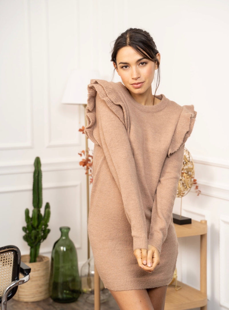 Mini Sweater Dress Marant