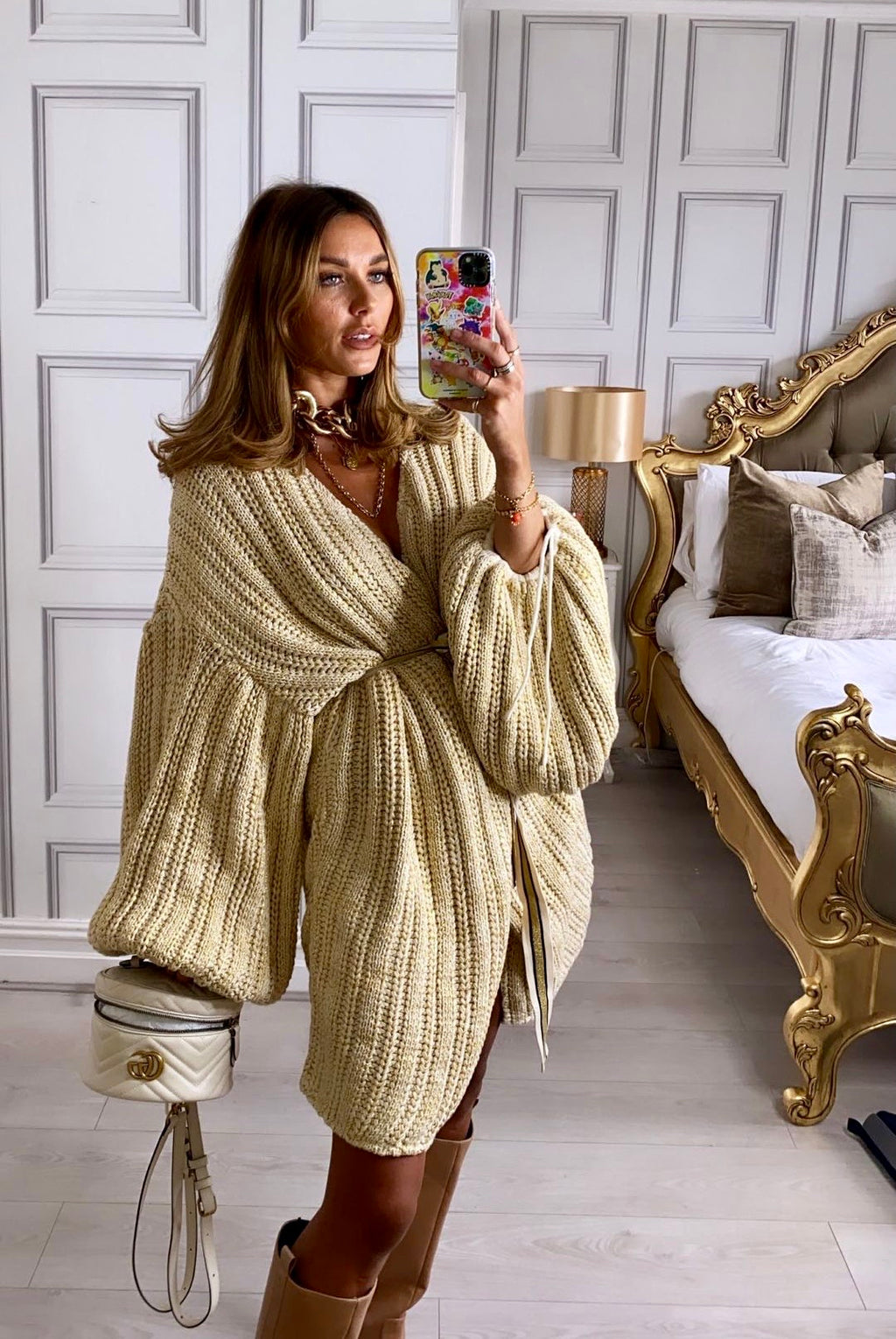 Oversized Sleeves Cardigan Maddy