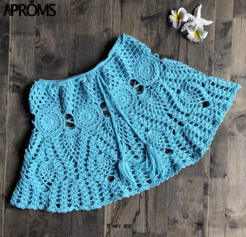 Mini Crochet Skirt Bella