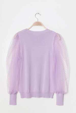 Elisse Jumper with Puff Sleeves