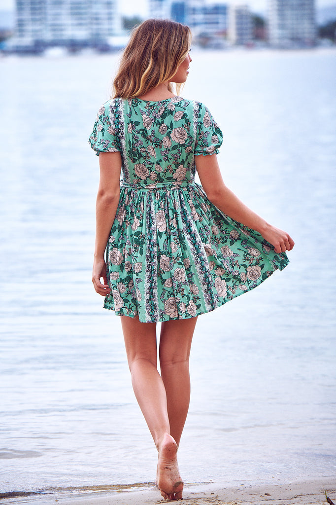 Fiona Mini Dress in Venice Print