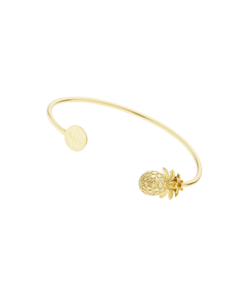 22K Gold plated Pineapple bangle