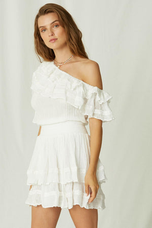 Tambo Mini off shoulder Dress