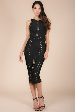 wow couture midi dress