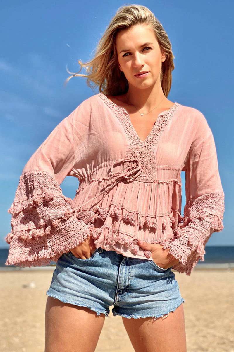 Boho Crochet top Vaiana