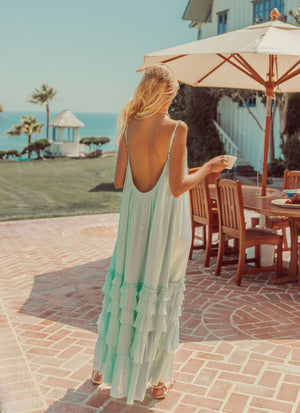 Maxi Dress LEA In Pool