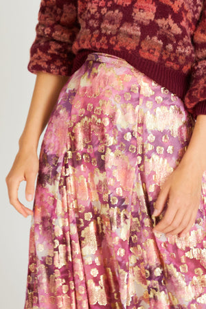 LoveShackFancy Lil Midi Skirt