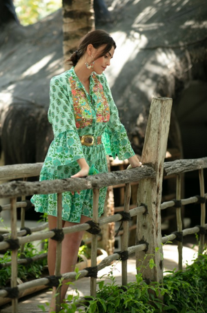 Miss June Boho Midi Dress Lonely