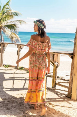maxi dress by miss june paris, boho chic