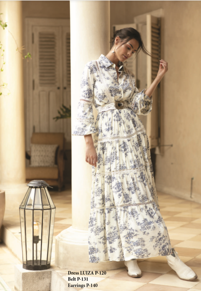 Maxi Miss June Shirt Dress Luiza