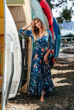 Jaase Maxi Dress Mia in Miak print