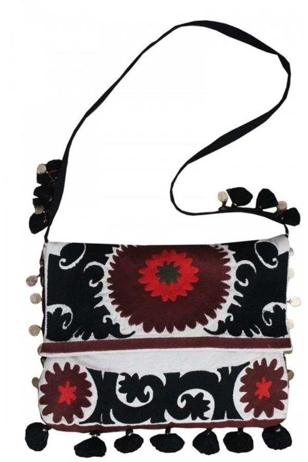 Miss June Embroidered Crossbody Bag