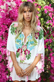miss june Aloha kaftan dress