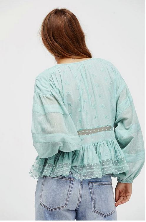 Free People Nostalgic Feels blouse