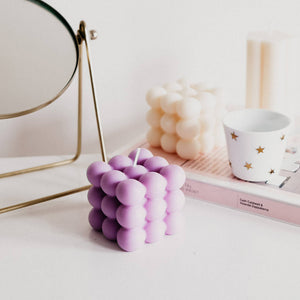 Cube Bubble Scented Candle
