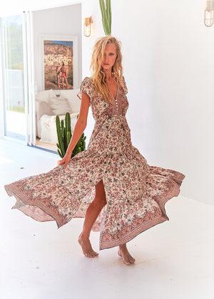 Jaase Maxi Dress Melissa in Paola Print