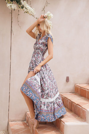 Jaase Maxi Dress Romi in Clemence Print