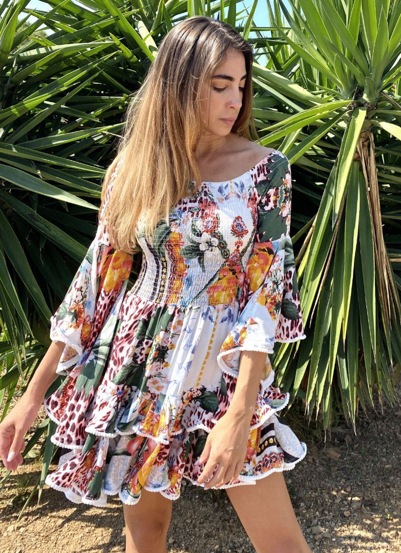 Jaase Primrose Dress in Vanida Print