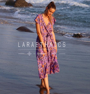 Maxi wrap Dress Shaina