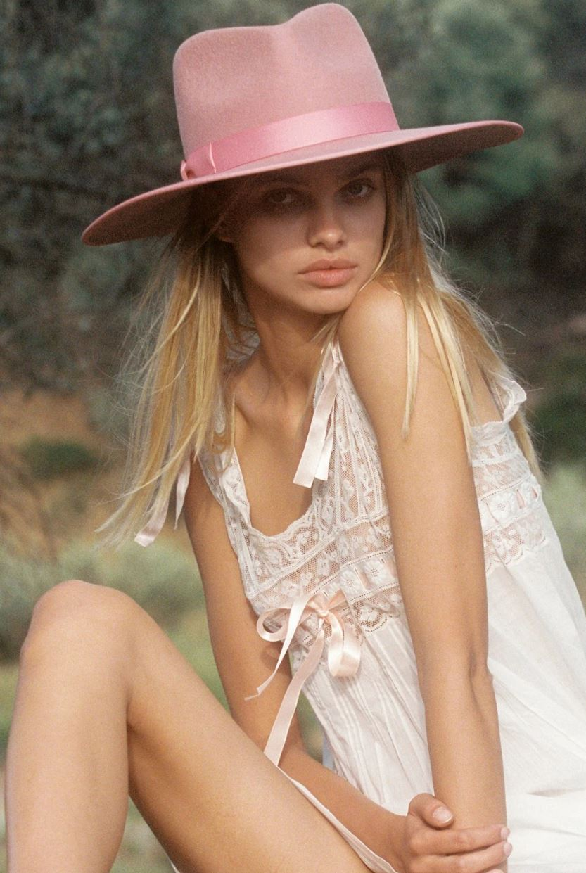Rose Rancher Wool Fedora Hat