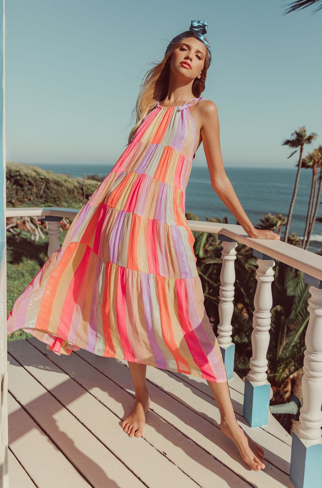 Sundress Valeria IN MARABELLA MIX RAINBOW