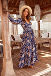 Rae Maxi Dress in Miramar Print