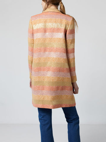 Hoss Intropia 641.04876 Coat in Multicolour