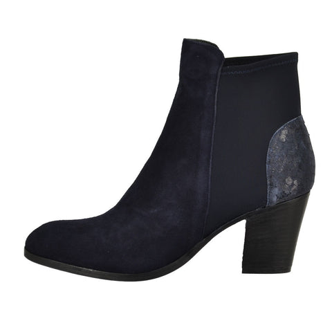 Elia B Elastic City Boots in Blue