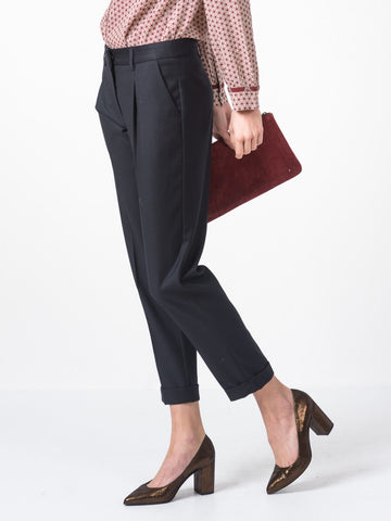 Indi&ColdFM830 Trousers in Marino