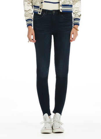 Maison Scotch Haut High Waist Skinny Jeans in Night