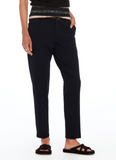 Tailored Stretch Fabric Trousers in Night