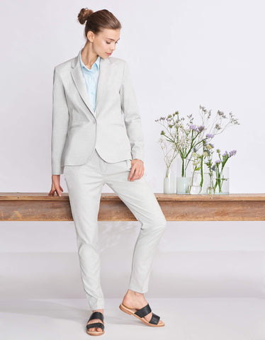 Lizzy Fancy Tailored Pants in Cloudy
