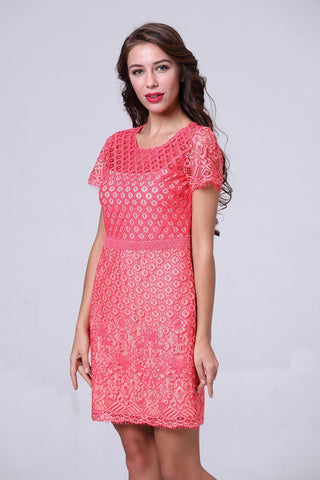 Lolita Lace Fitted Dress