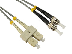 ST-SC Multimode OM1 Fibre Optic Cables