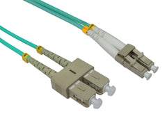 LC - SC Multimode OM3 Fibre Optic Cables