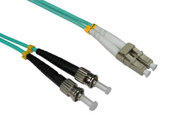 LC - ST Multimode OM3 Fibre Optic Cables