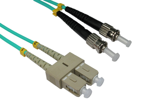 ST - SC Multimode OM3 Fibre Optic Cables