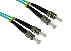 ST - ST Multimode OM3 Fibre Optic Cables