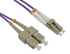 LC - SC Multimode OM4 Fibre Optic Cables