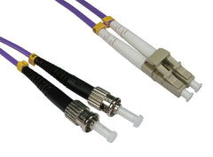 LC - ST Multimode OM4 Fibre Optic Cables