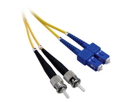 ST-SC Singlemode OS2 Fibre Optic Cables