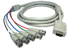 SVGA to 5 BNC Cable