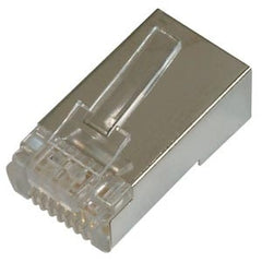 Shielded Cat6 Connector + Rj45 Cable Boot