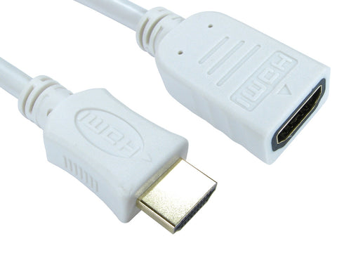 Hdmi Extension cable - White