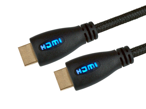 LED HDMI high speed cables with Ethernet