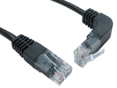 Cat5e Patch Cables Straight to Right Angled Up