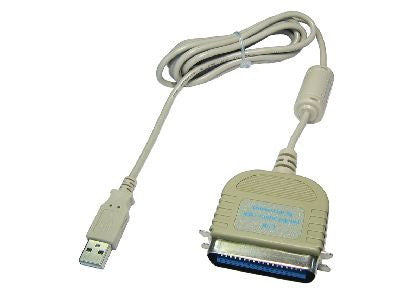 USB 1.1 to Parallel Printer Cable