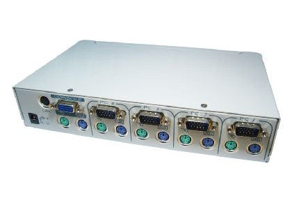 KVM Switch 1 - 4 port KVM with On Screen Display Code